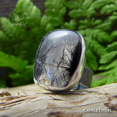 Black Needles Ring