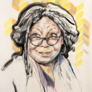 Portrait Whoopi Goldberg