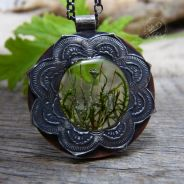 Mandala, Copper & Natural Moss