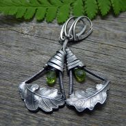 Peridot...& Oak Leaf