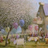 The courtyard of balloonists