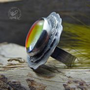 Aura Quartz Ring