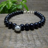 Black Pearls Bracelet